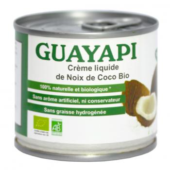 Crème liquide de coco bio