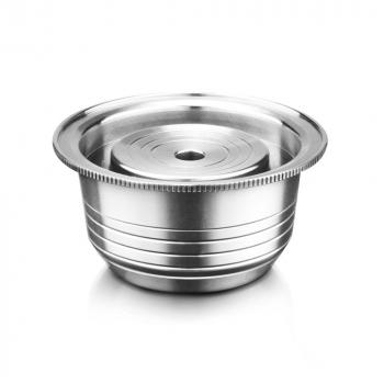 Capsule Nespresso Vertuoline rechargeable en inox