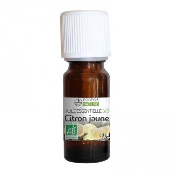Citron BIO - Huile essentielle 10 ml
