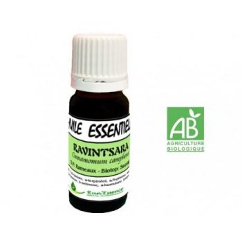 huile essentielle ravintsara rameaux AB run'essence 10ml