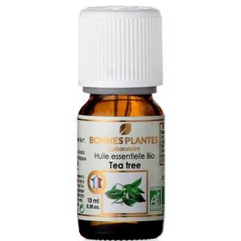 Huile Essentielle Tea Tree Bio - Élaboré en France - Flacon verre ambré 10ml avec codigoutte