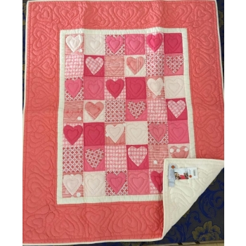 Couvre lit corail mekong quilts