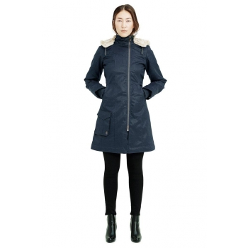Parka long ladies HOODLAMB