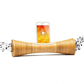 MANGOBEAT - enceinte naturelle en bois pour telephone - Amplificateur ECOLOGIQUE-idée cadeau Noel, saint valentin, fête des pères