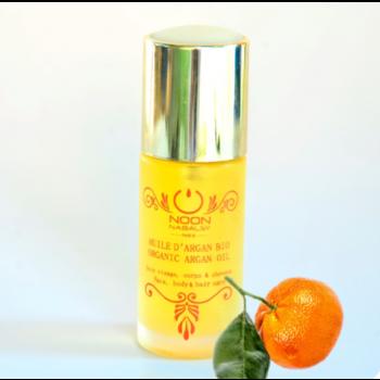 huile d argan et mandarine rouge
