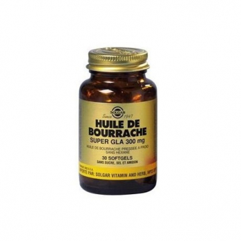 huile-de-bourrache-super-gla-300-mg-solgar