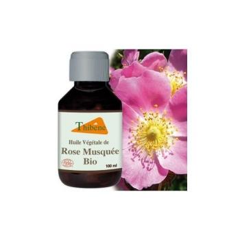 Huile Végétale de Rose Musquée Bio 30ml Flacon en verre