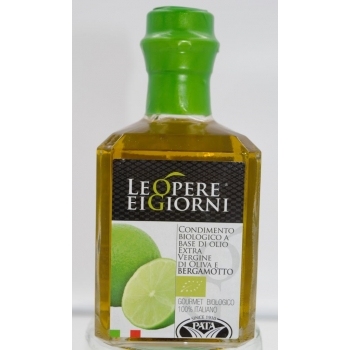 TERRE DE CALABRE - Huile d'olives a la bergamote de calabre pressée BIO