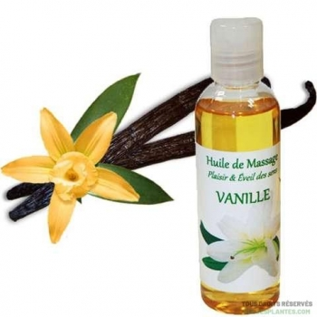 Huile de massage à la vanille 100ml