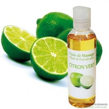 Huile de massage au citron vert 100ml