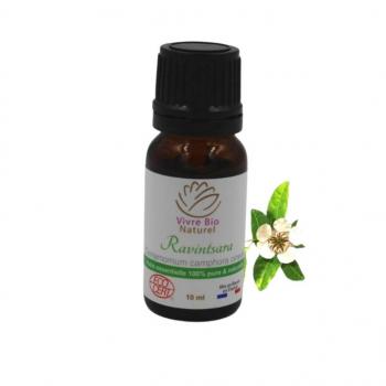 Huile essentielle Ravintsara chémotype Bio 10ml