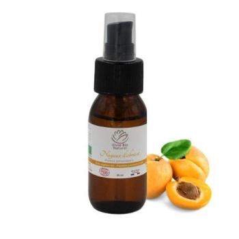 Huile végétale noyaux d'abricot Bio 50ml