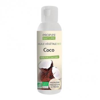 Coco BIO - Huile végétale vierge 100 ml