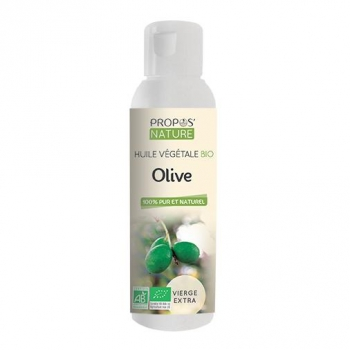 Olive BIO - Huile végétale vierge extra 100 ml