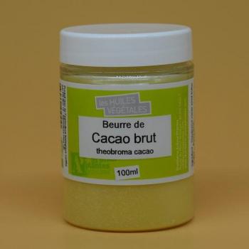 Beurre de Cacao brut bio 100ml