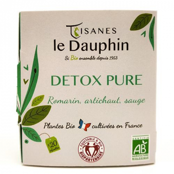 infusion bio france detox le dauphin 20 infusettes