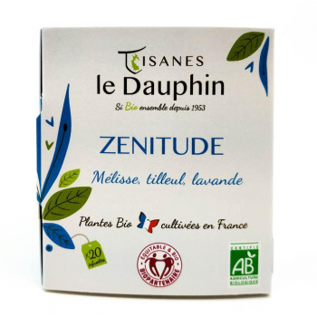 Zénitude boite 20 infusettes