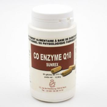 Coenzyme Q10 –  Antioxydant – 60 gélules
