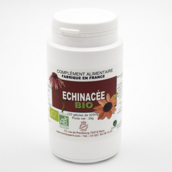 Echinacée BIO - Défenses immunitaires - 120 gélules