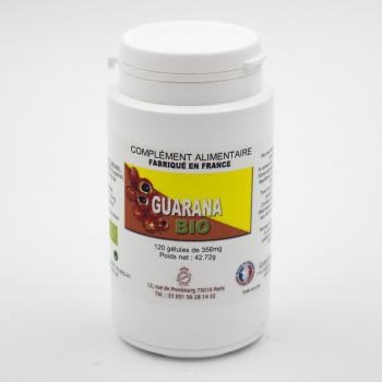 Guarana BIO - Amincissement - 120 gélules