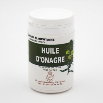 Huile d'onagre - Régulateur hormonal – Beauté de la peau - 60 capsules