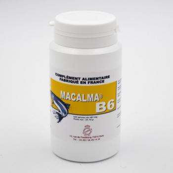 Macalma B6 - Riche en magnésium et en calcium - 120 gélules