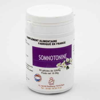 Somnotonine - Insomnies - 60 gélules