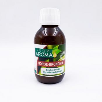 VÉGÉ-AROMA SIROP Gorge-bronche - Antiviral et anti-infectieux -150 ml