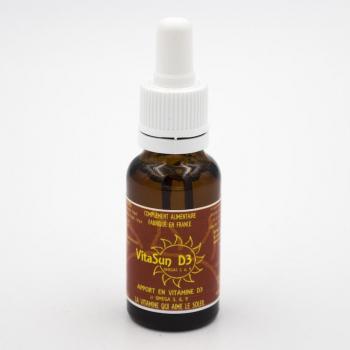 Vitasun D3 - Vitamine D - 20 ml pour 20 jours