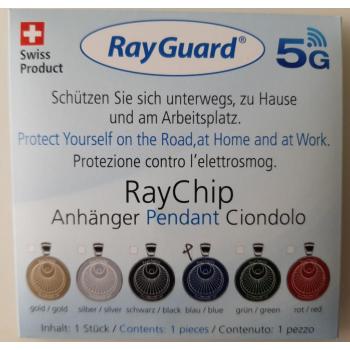 """RayGuard anti-4&5G - Pendentif """"Fleur de vie"""""""