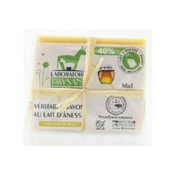 Savon 40% de lait d'ânesse au miel