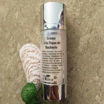 Crème anti-âge à l'huile de pépin de figue de barbarie 30 ml.