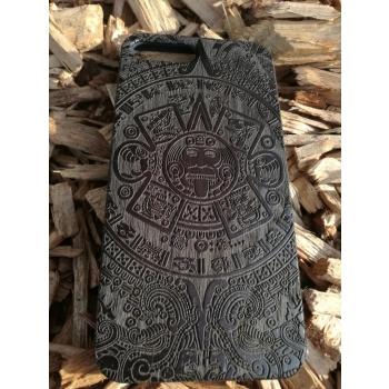 coque en bois naturel et véritable housse de protection pour iPhone 6+ 7+ 8+