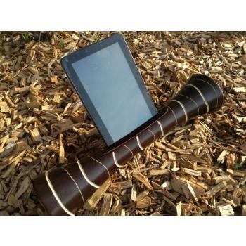 Eco Speaker IPAD enceinte naturelle écologique en bois amplificateur sonore sans onde pour téléphone portable dock iphone, samsung androïd ou IOS