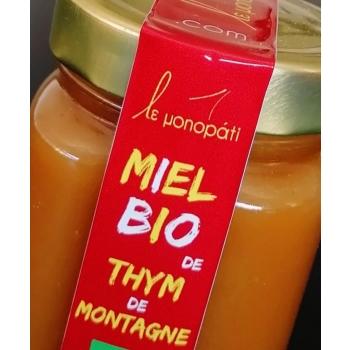 Miel Bio Thym de Montagne Le Monopati 250g