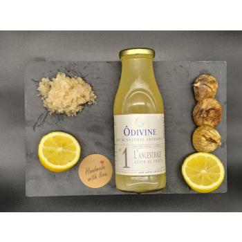 Cure 30j de kéfir de fruits Figue/Citron (6 bouteilles de 50 cl)