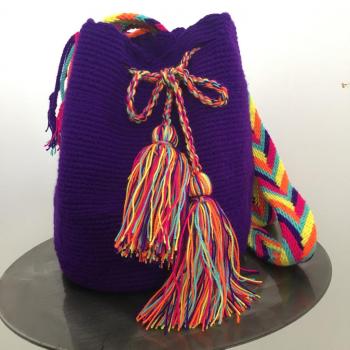 Mochila Wayuu Violette