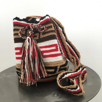 Mini-Mochila Wayuu Bara