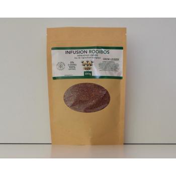 Infusion Rooibos 100g Bio et pure, sans arômes ajoutés
