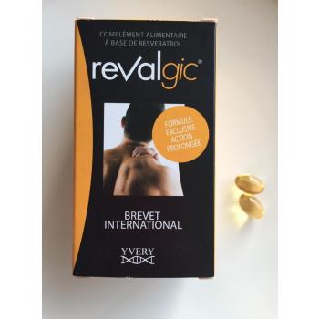 Revalgic - Lutte contre la sensibilité des articulations / antalgique (60 capsules)