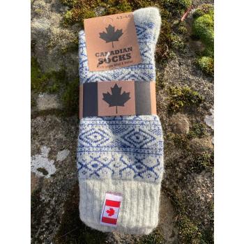 Chaussettes Canada (bleu)