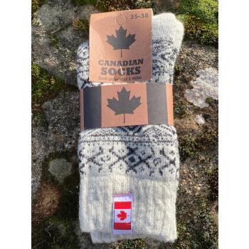 Chaussettes Canada (noir)