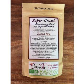 Super-Cruesli au Cacao Cru 250 gr