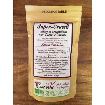 Super-Cruesli à la Saveur Panachée 250 gr