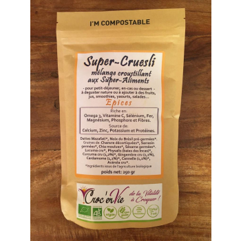 Super-Cruesli aux Epices 250 gr