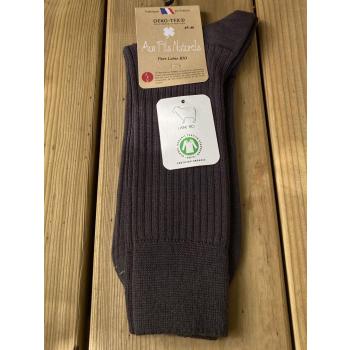 Chaussette 100% laine bio (gris)