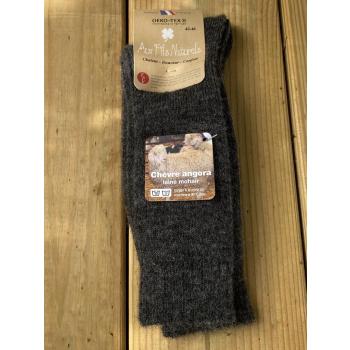 Chaussette mohair (gris)