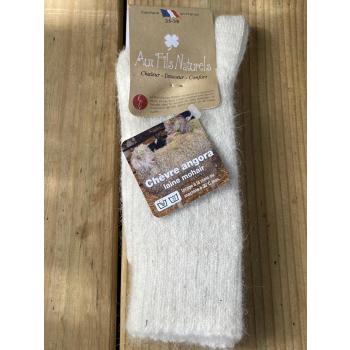 Chaussette mohair (écrue)