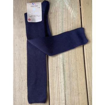 Lot de 2 paires de mi-bas 100% laine mérinos (marine)