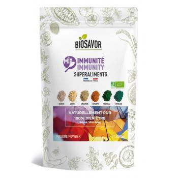 Mix immunité en poudre Bio - BioSavor